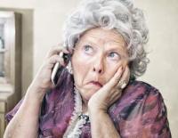 Older-woman-on-phone